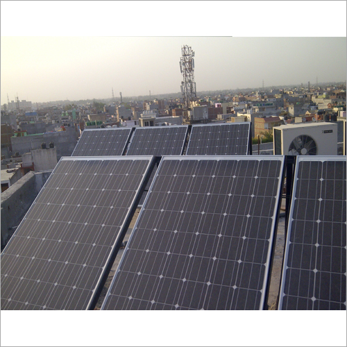 Solar Off grid Plant