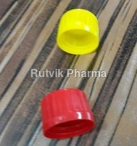 Plastic Yellow, Red Sauce Bottle Caps