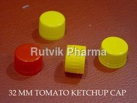 Plastic Yellow, Red Tomato Sauce Cap