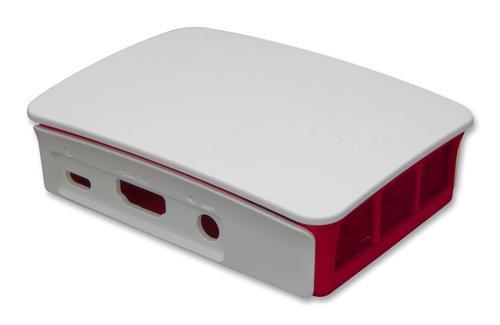 Raspberry PI Case - Red & White