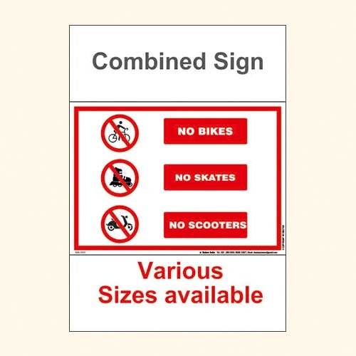 Combine Sign SIGN 1087