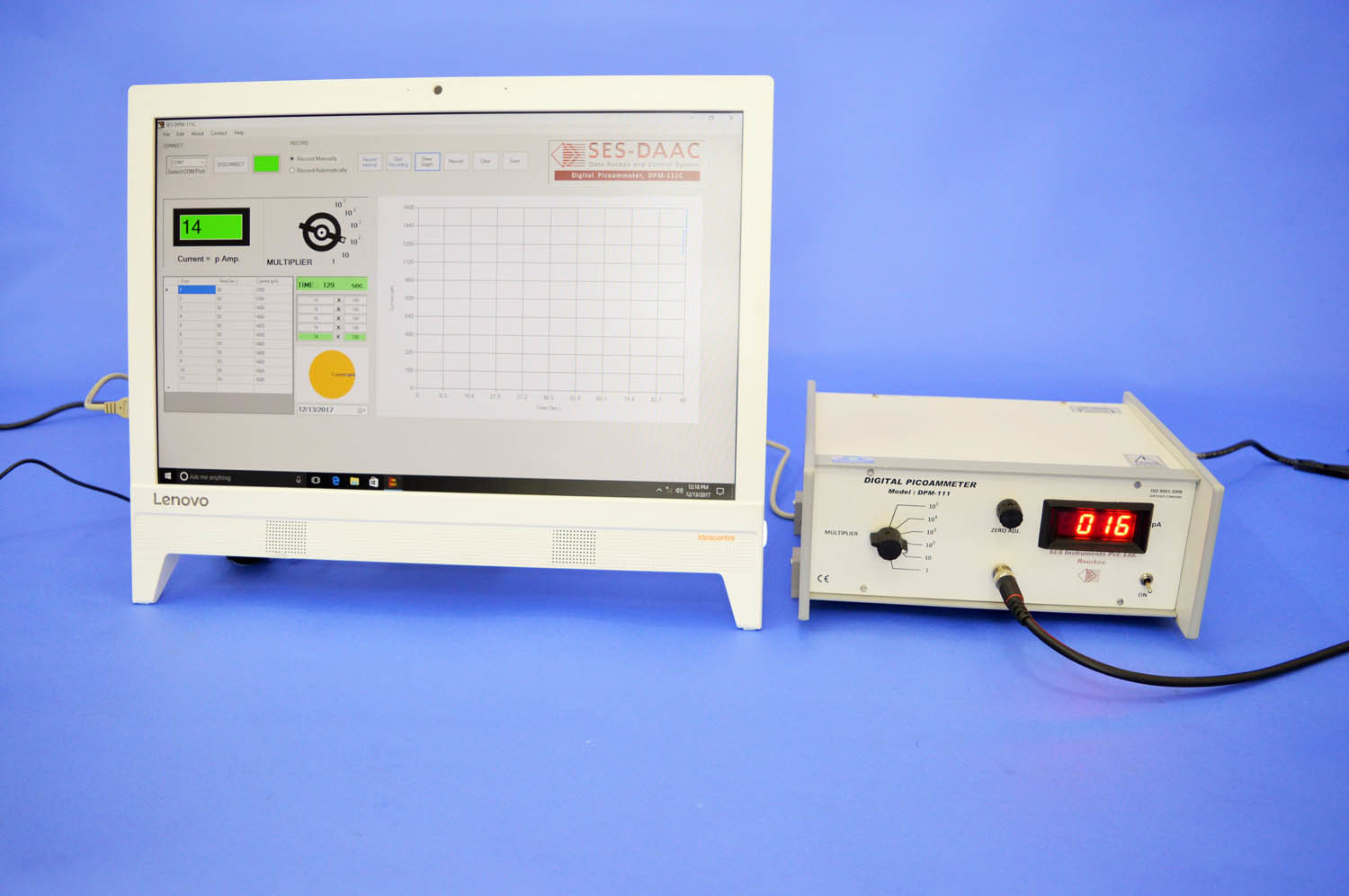 Digital Picoammeter, Model DPM-111-C2