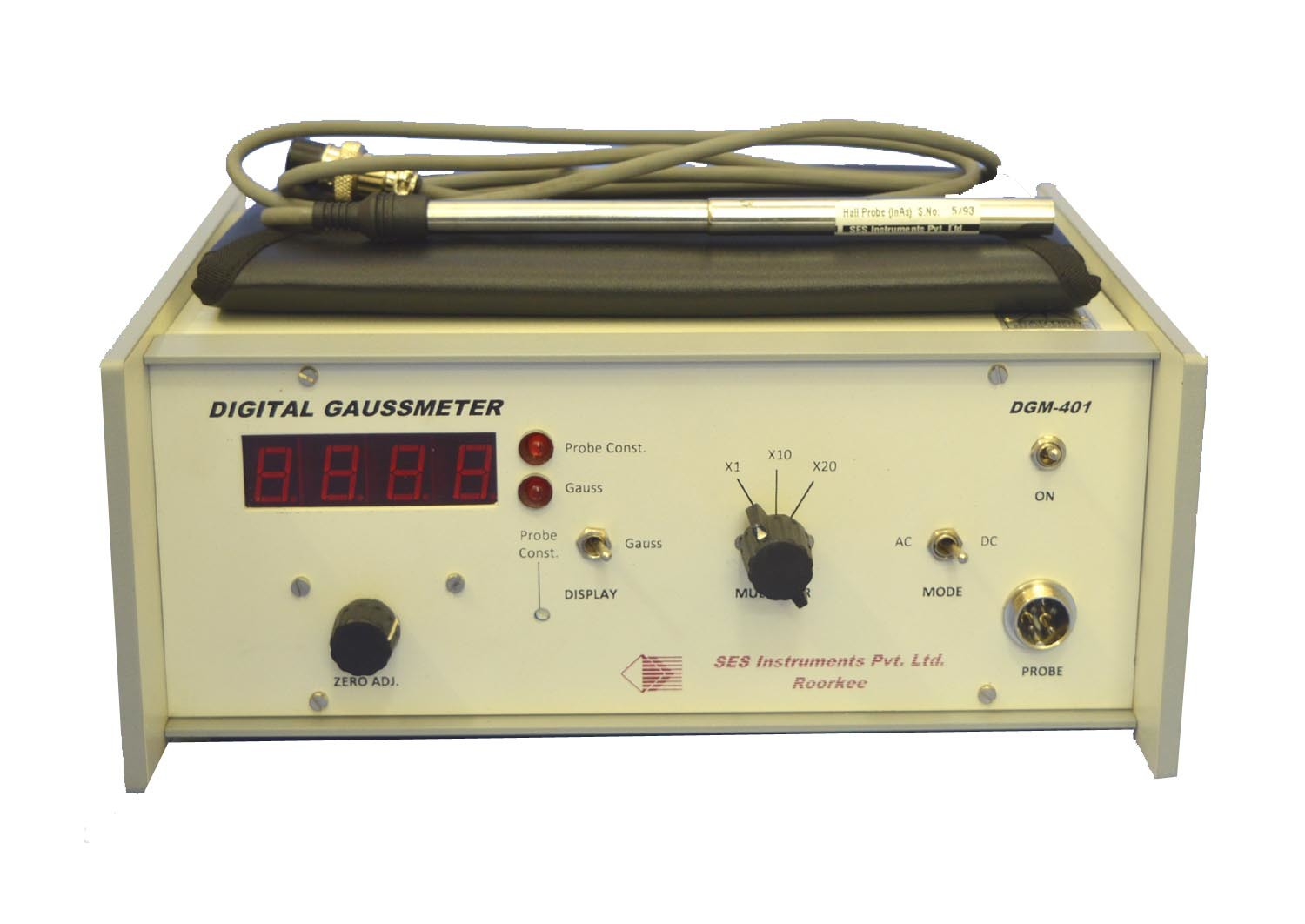 Digital Gaussmeter, DGM-401