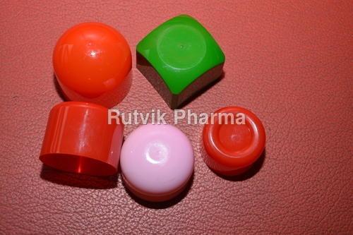 Plastic Dusting Powder Container Caps