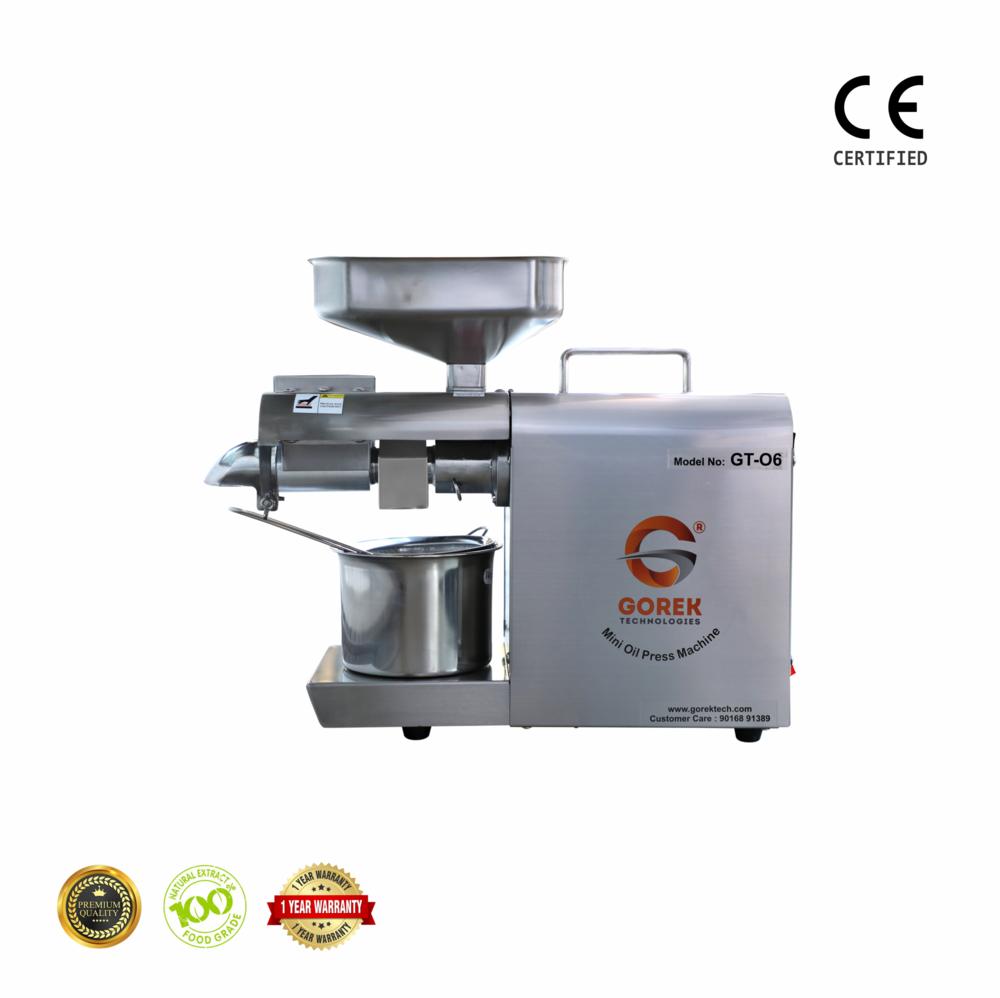 Mini Oil Press Machine For Domestic Use