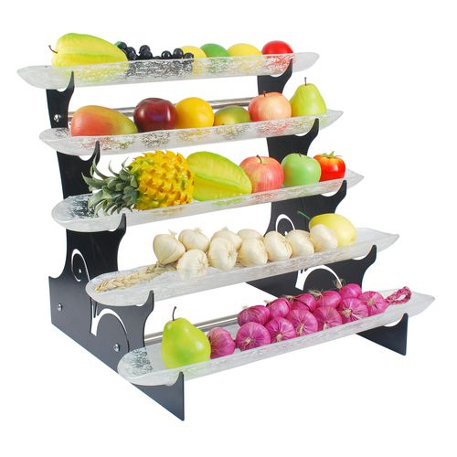Fruit Display Rack