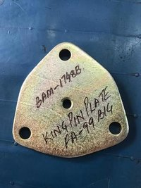 KING PIN PLATE TRIANGLE  TPYE HOLE WIT