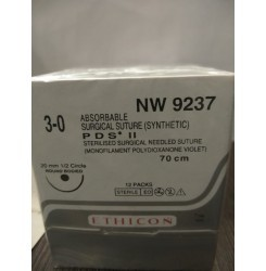 Ethicon Synthetic Absorbable Sutures Pds II (Polydioxanone) (NW9237)