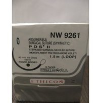 Ethicon Synthetic Absorbable Sutures Pds II (Polydioxanone) (NW9261)