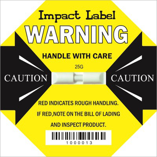 Impact Label (Shock Indicator)
