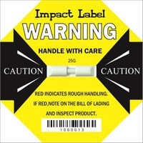25G Impact Label (L-65)