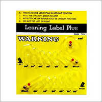 Leaning Label Plus (Tilt Indicator 24114)