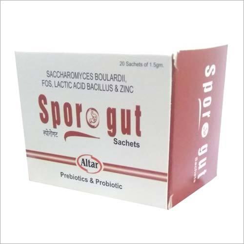 Saccharomyces Boulardii FOS Lactic Acid Bacillus and Zinc