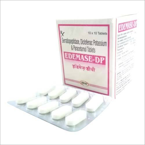 Serratiopeptidase Diclofenac Potassium & Paracetamol Tablets