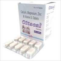 Calcium Magnesium Zinc & Vitamin D3 Tablets