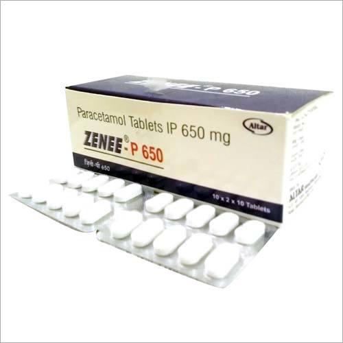 650 mg Paracetamol Tablets IP