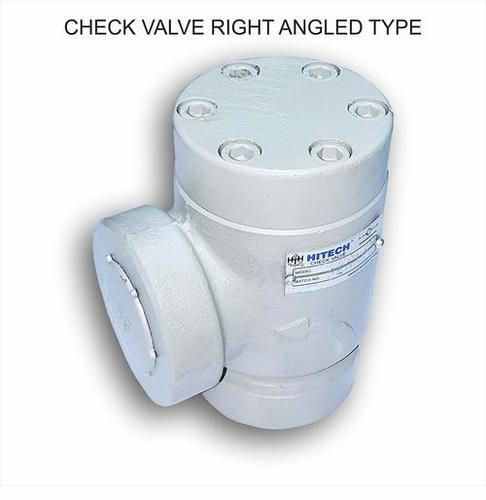 HITECH Check Valve CTR-10 (Right Angle Type)