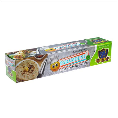Paramount 72 Mtr Food Grade Aluminium Foil Roll (Pack of 1)