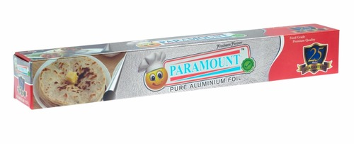 Paramount 25 Mtr Food Grade Aluminium Foil Roll (Pack of 1)
