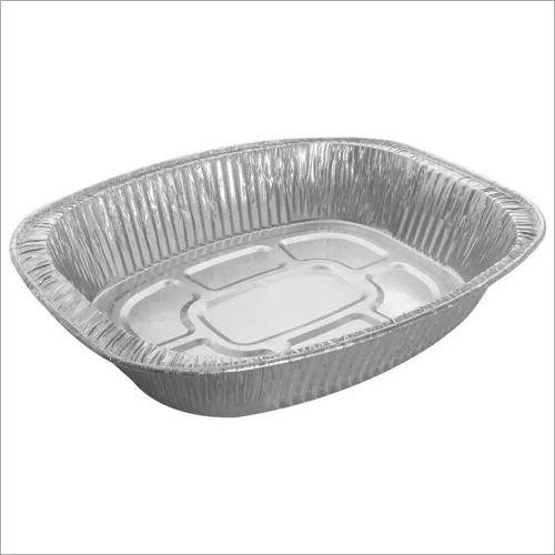 Paramount O Roaster (7500 Ml) Disposable  Aluminium Foil  Food Container