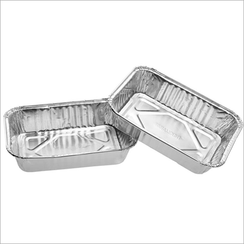 Paramount 9X9 Shallow (1500 Ml) Disposable  Aluminium Foil  Food Container