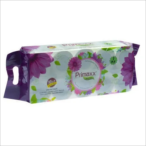 Primaxx Premium Quality Toilet Paper Roll (2 Ply) 10 In 1 Pack
