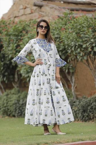 Printed Pure Cotton Kurti