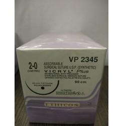 Ethicon Synthetic Absorbable Coated Vicryl Plus Antibacterial Sutures(VP2345)