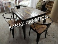 Antique 4 seater dining table