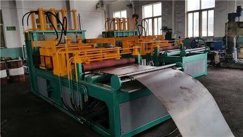 1300/1600 Corrugated Fin Forming Machine For Transformer Corrugated Wall Tank Production