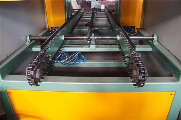 Corrugated Fin Seam Welding Machine For Transformer Corrugated Wall Tank Production