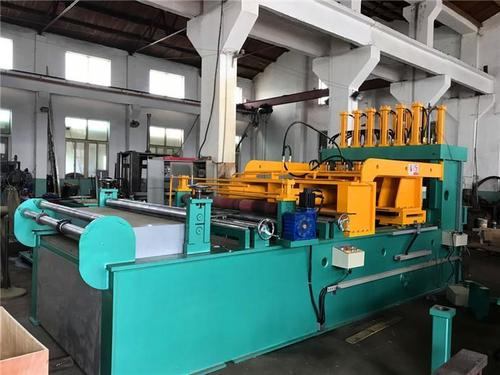 Corrugated Fin Forming / Folding Machine For Transformer Corrugated Tank Manufacturing