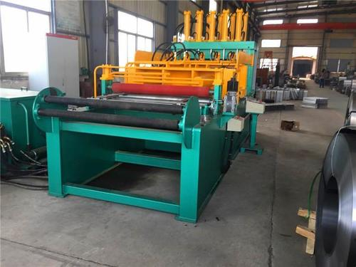 1300X400 Corrugated Fin Folding Machine For Transformer Corrugated Wall Tank Production