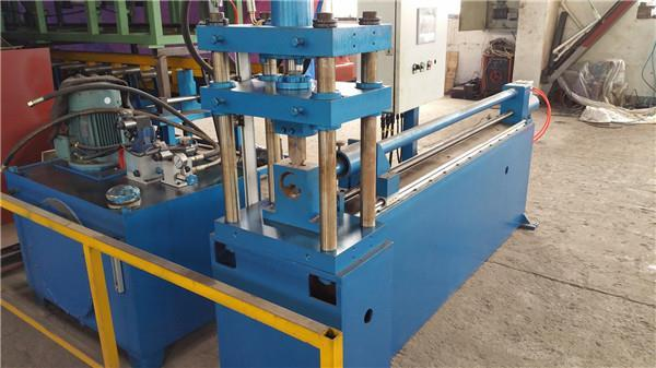 Header Pipe Notching Machine For Transformer Radiator Production