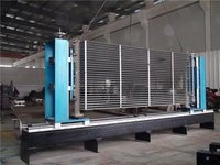 Flange Welding Table For Transformer Radiator Welding Use