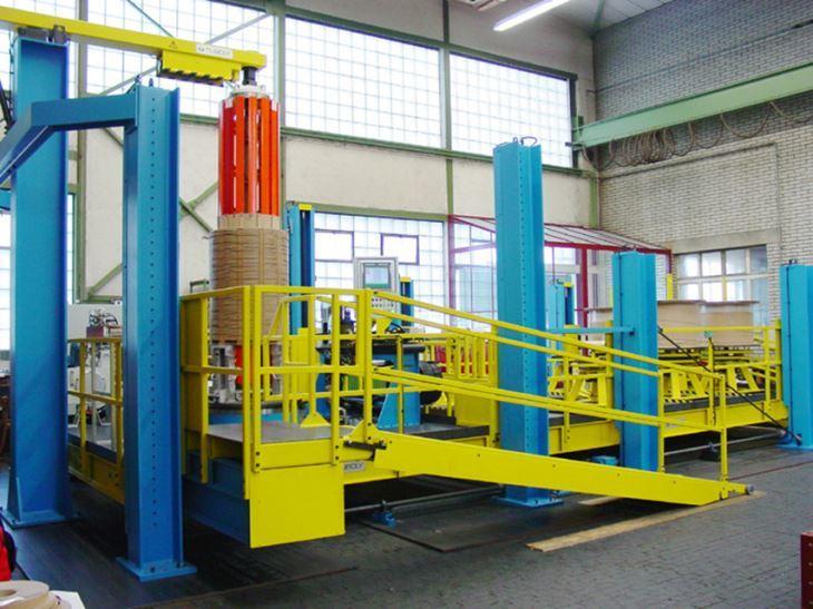 25T Vertical Coil Winding Machine