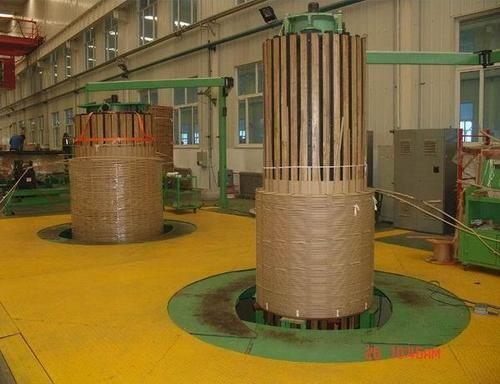 Vertical Coil Winding Machine
