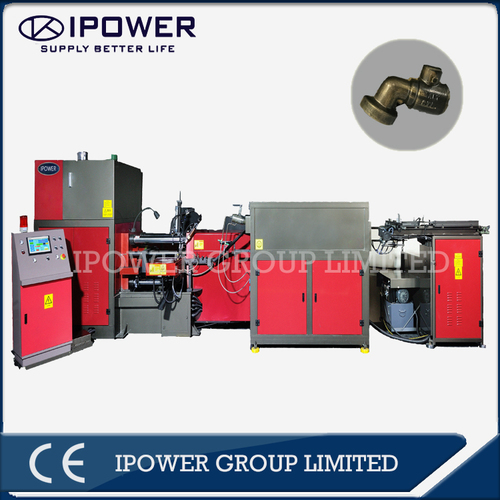 Horizontal Forging Press Machine for Brass Faucet