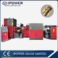 Automatic Horizontal Forging Press Machine for Brass Valve