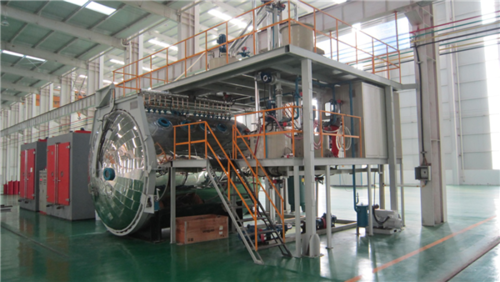 Vacuum Epoxy Resin Casting Machine Chamber For Dry Type Transformer Reactor Making