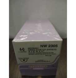 Ethicon Synthetic Absorbable (Polyglactin 910) Coated Vicryl (NW2305)
