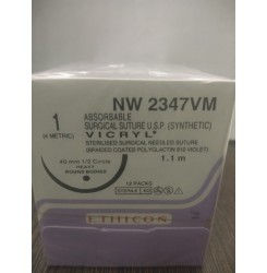 Ethicon Synthetic Absorbable Coated Vicryl (NW2347VM)