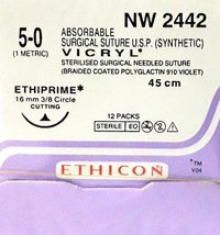 Ethicon Synthetic Absorbable Coated Vicryl (NW2442)