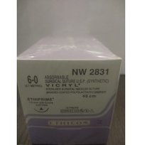 Ethicon Synthetic Absorbable (Polyglactin 910) Coated Vicryl (NW2831)