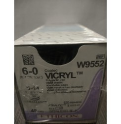 Ethicon Synthetic Absorbable (Polyglactin 910) Coated Vicryl (W9552)