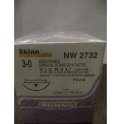 Ethicon Synthetic Absorbable (Polyglactin 910) Coated Vicryl Rapide (NW2732)