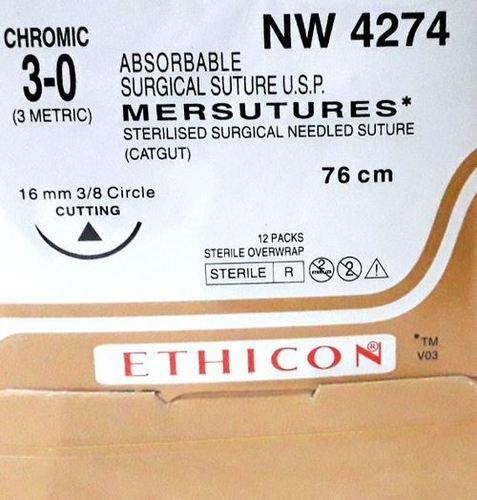 Ethicon Sterilised Surgical Gut Chromic (NW4274)