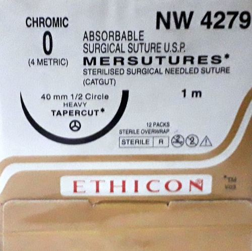 Ethicon Sterilised Surgical Gut Chromic (NW4279 )