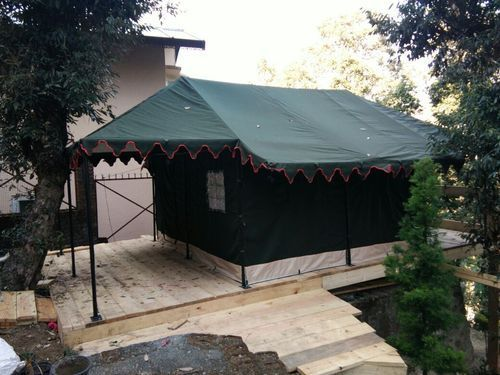 Canvas Military Tent