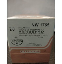 Ethicon Sterilised Surgical Gut Chromic With Needle - Mersutures (Nw4048)